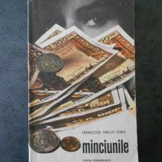 FRANCOISE MALLET JORIS - MINCIUNILE