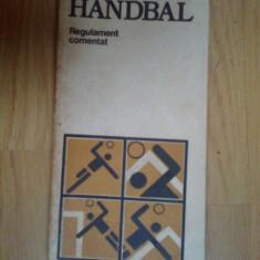 d4 Handbal - regulament comentat
