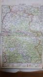 Harta Oradea, Munții Bihorului, Olcea, Munții Codrului, 1928