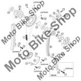 MBS Surub M5X10 DIN912 10.9 KTM 525 EXC-G RACING 2004 #x28, Cod Produs: 912050106KT