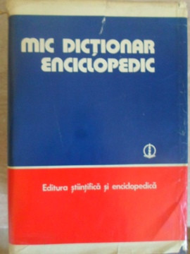 MIC DICTIONAR ENCICLOPEDIC-COLABORATORI foto