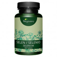 Seleniu, 200mcg, 180 Tablete
