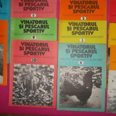 REVISTA VÂNĂTORUL ȘI PESCARUL ANUL 1981* 11 reviste