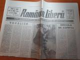"Ziarul romania libera 19 iulie 1990-articolul "" dincolo de sapanta """