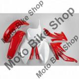 MBS Kit plastice Honda CRF450 2008, alb/rosu, culoare OEM, Cod Produs: HOKIT110B999