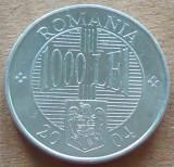 Moneda 1000 Lei - ROMÂNIA, anul 2004  *cod 4738  ALLU - A.UNC+, Aluminiu