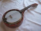 CHITARA BANJO MUSIMA DDR CU 8 COARDE CARCASA LEMN - Gitarrenbanjo 60 CM