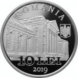 Moneda Argint 100 de Ani de la nasterea lui NIcolae Cajal