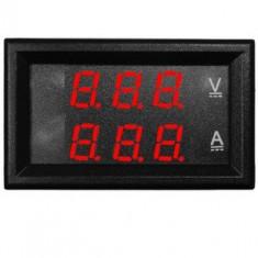 Voltmetru si ampermetru digital, curent DC - 178019
