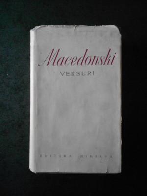 ALEXANDRU MACEDONSKI - VERSURI (1975, editura Minerva, editie bibliofila) foto