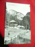 Ilustrata Muntii Bucegi Cabana Scropoasa circ.Par Avion 1964 in Guineea