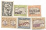 Silistra, 1913 - 1 B, 5 B, 10 B, 15 B, 25 B, 40 B, NEOBLITERATE, Nestampilat