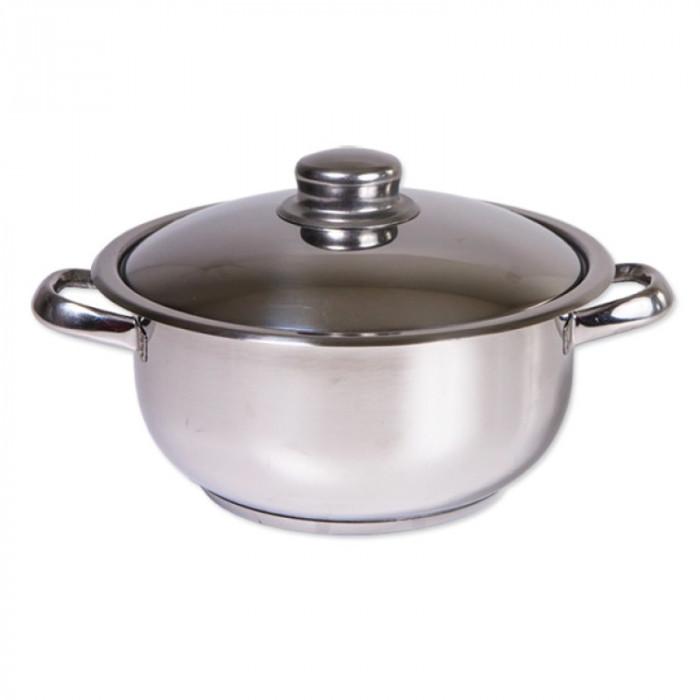 Oala inox Cocinera Zilan, 14 l, nr 32, capac inox