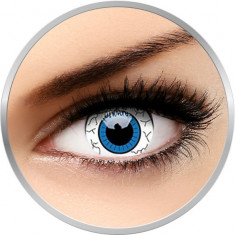 Fancy Comic Eye - lentile de contact colorate albe anuale - 360 purtari (2 lentile/cutie)