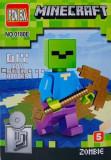 Mini Figurina, de Tip Lego, Minecraft, ZOMBIE