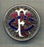 Y 115 INSIGNA -TFC ORI FTC - CLUB VECHI DE CICLISM -DEFECTA- PENTRU COLECTIONARI