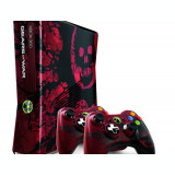 Consola Xbox 360 Gears of War 3 Limited Edition 320GB Red & Black cu 2 controllere (SH)