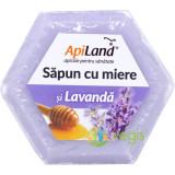 Sapun Natural Cu Miere Si Lavanda 100gr