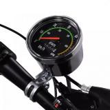 Kilometraj mecanic pentru bicicleta, vitezometru resetabil analog, cablu 86 cm, PRC