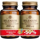 Selenium (Seleniu) 200mcg 50tb Pachet 1+1-50%