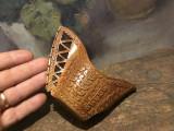 Arta / Colectie / Design - Canceu / Canita scultura in lemn model deosebit !