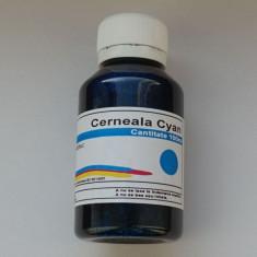 Cerneala refill HP 302 302XL F6U65AE F6U67A Cyan 100ml