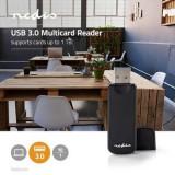 Cititor de carduri, multicard Nedis, USB 3.0, 5 Gbps