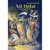 Carte Editura Litera, Invat sa citesc. Ali baba si cei patruzeci de hoti, nivelul 3