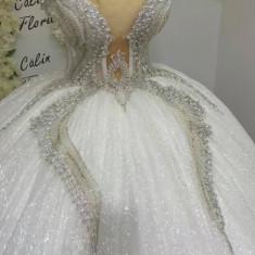 Vand rochie de mireasa - Masura M, Rochii de mireasa printesa