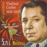 MOLDOVA 2018, Vladimir Curbet, coregraf, dansuri, serie neuzata, MNH