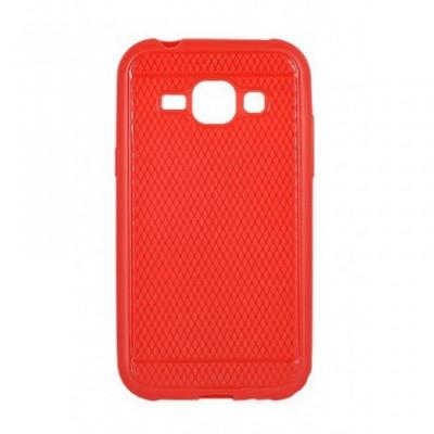 Husa Capac Silicon Viki Samsung G928 Galaxy S6 Edge+ Rosu foto