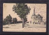SALUTARI DIN TURNU SEVERIN  BULEVARDUL  CAROL I  CLASICA  CIRCULATA 1906  UPU, Printata