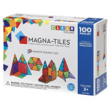 Magna-Tiles Clear Colors set magnetic - 100 piese