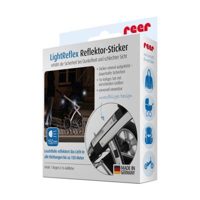 Banda reflectorizanta autoadeziva LightReflex Reer, 16 bucati foto