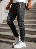 Pantaloni de trening negri Bolf JX8565