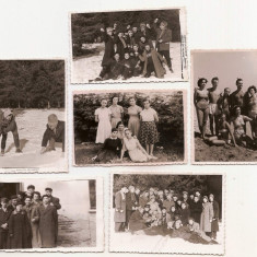 lot 26 fotografii pionieri in tabara si altele