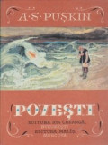 Carte veche Copii,Povesti-A.S.Puskin/ilustrator:Iv Bruni,In.stare FB,T.Gratuit