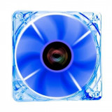 Ventilator Riotoro Cross-X Clear Classic 120mm iluminare albastra