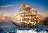 Puzzle Castorland - 1500 de piese - Sailing at Sunset