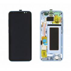 Display cu touchscreen cu rama bleu samsung galaxy s8 g950