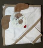 Prosop bebe cu glugă / capișon - cățeluș