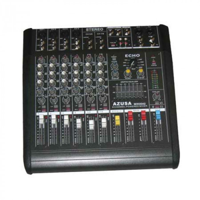 Mixer si amplificator PMQ2108, 2 x 240 W, 8 canale