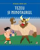 Mitologia. Tezeu și minotaurul