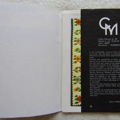 Covoare Romanesti/Handwoven Romanian Carpet. Ed.IPREC-UCECOM '70.