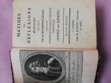 La Rochefoucauld, Maxime si reflectii, 1800, Viena, cartonata, 315 pag. completa