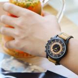 Ceas Quartz pentru Barbati, curea moale, ceas cu calendar