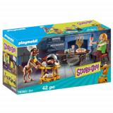 Set de Constructie Scooby-Doo Cina cu Shaggy, Playmobil
