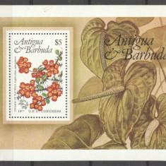 Antigua & Barbuda 1984 Plants, Flowers, UPU Congress, perf. sheet, MNH S.050