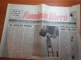 """Ziarul romania libera 1 august 1990-articolul """" complot in delta dunarii"""""""