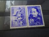 1956  LP 419 a  500 DE ANI DE LA MOARTEA LUI IOAN DE HUNEDOARA  cu vigneta 5609, Nestampilat